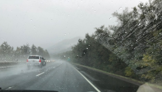 Rain on the Gorge Highway