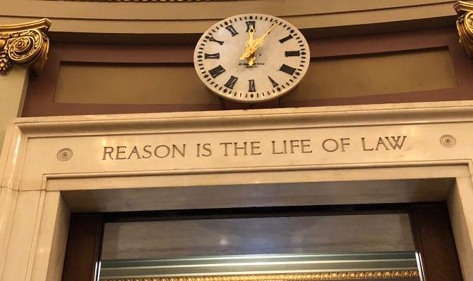 Reason is...