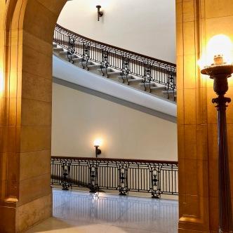 Side stair